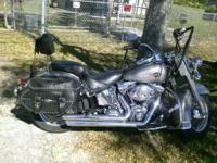 2007 Harley Davidson Softail 6 speed, python kits, 1584