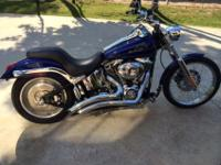 2007 Harley Davidson Softail Duece. In 2013 the Duece