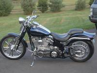 2007 Harley-Davidson Softail FXSTSSE, garage kept, many