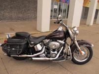 This is a Harley-Davidson, Softail Heritage Classic for