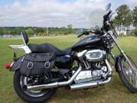 This 2007 Harley Davidson Sportster 1200 is in