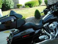 2007 883 Sportster, Royal Blue, mint condition, never