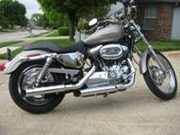 This Sportster is in excellent condition having been