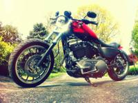 2007 Harley Davidson xl883r Sportster customized into a