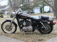 2007 Sportster 1200C with about 11,000 miles on it.