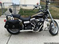 FOR SALE: 2007 Harley Street Bob Olive Green and Black