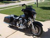 2007 Harley Davidson Street Glide FLHX Touring. 2007