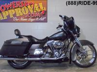 2007 Harley Davidson Street Glide for sale with chrome