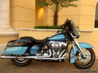 2007 HARLEY STREET GLIDE CUSTOM BAGGER This bike looks