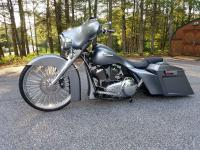 2007 Custom Bagger  What began as a 2007 Harley