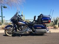 2007 Harley Davidson - Ultra Classic - 39908 Miles Blue