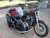 The sidecar is full metal, not fiberglass!I also have