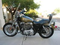 Description harley Davidson 2007 Sportster XL 1200L