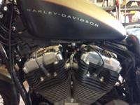 2007 Harley Davidson XL1200N with 6750 miles. Excellent