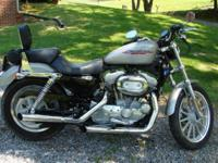 I HAVE A 2007 Harley-Davidson XL883R UP FOR SALE WITH