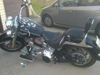 2007 Softail Deluxe. 124 S&S ci. 120R Ported/Polished