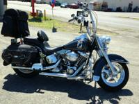2007 HARLEY DAVIDSON HERITAGE SOFTTAIL includes over
