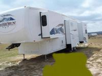 2007 36 ft. Bighorn 5th wheel with 4 slides. Used 6 or