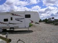 2007 Heartland Cyclone M3795 Toy Hauler. Length 37FT-
