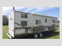 Bunkhouse Model, In Excellent Condition, Vinyl Floors,