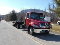 2007 HINO 258 21' ROLLBACK TOW TRUCK AUTOMATICVIN: