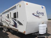 USED '07 Holiday Rambler 30CKS for sale, single A/C,