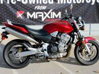 With its sportbike-derived powerplant light-weight and