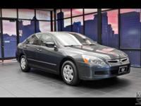 2007 Honda Accord 2.4 LX Automatic 34 MPG Value Priced