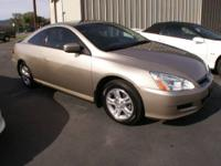 2007 Honda Accord EX-L Coupe $16,995 ONLY 52K MILES ON