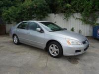 Options:  2007 Honda Accord Ex-L|This Vehicle Has A