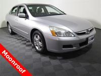 2007 Honda Accord EX-L with a 2.4L Engine. Leather