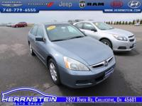 2007 Honda Accord EX-L Accident Free AutoCheck History
