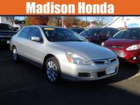 2007 HONDA ACCORD EX-L A SUPER CLEAN One-Owner. Clean