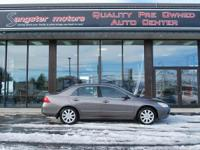 Options:  2007 Honda Accord Sdn Ex-L|Brownstone/|V6