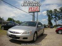This 2007 Honda Accord Is a One Owner. It Features
