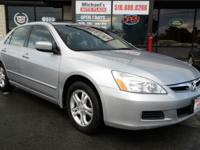 2007 Honda Accord EX! WE FINANCE -Power Sunroof!