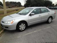 2007 Honda Accord LX 4-cylinder with123,000+ miles.