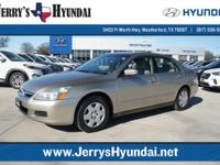 This outstanding example of a 2007 Honda Accord Sdn LX