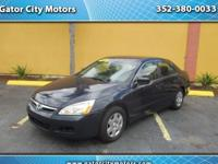 2007 Honda Accord LX sedan AT  FOR SALE in