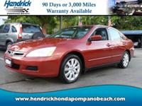 *ONE OWNER* ! Low Miles! Moroccan Red Pearl exterior