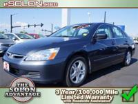 2007 Honda Accord Sdn 4dr Car LX SE Our Location is: