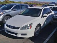 CARFAX One-Owner. Clean CARFAX. 2007 Honda Accord SE