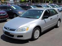 This outstanding example of a 2007 Honda Accord Sdn VP