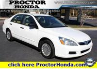 Options Included: N/ACertified Used 2007 Honda Accord