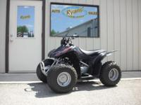 WOW, look at this ATV. This was my sons personal unit,