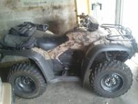 2007 HONDA ATV FORCEMAN RINCON 4X2 AND 4X4 500CC - LOW