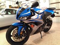 This is a 2007 Honda CBR600RR. We acquire it in 2012
