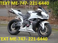 Selling an excellent condition2007 Honda CBR 600rr bike