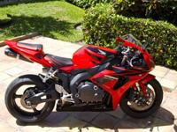 Mint condition 2007 Honda CBR1000RR with only 4,000