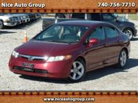 Options:  2007 Honda Civic Ex|Check Out This Nice